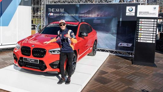 Marc Marquez Wins BMW X4 M Competition Making That Seven in a Row