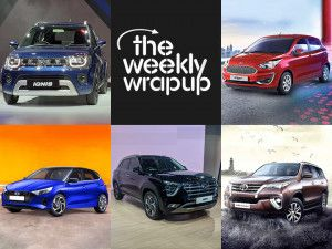 Top 5 Car News Of The Week Maruti Ignis BS6 Launched 2020 Hyundai i20 Unveiled New Creta Interiors Teased And Toyota Fortuner BS6 Prices Revealed