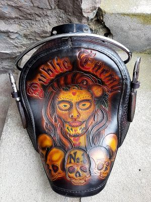 Chicano style HD seat