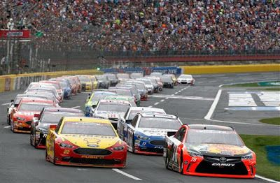 nascar bank of america 500 odds to win