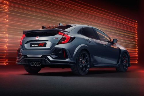 Honda Civic Type R Sport Line Deletes Wild Wing and Adds Comfort