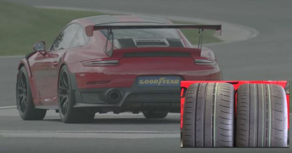 How Much Faster Can You Make A Porsche 911 GT2 RS With A Tyre Swap?