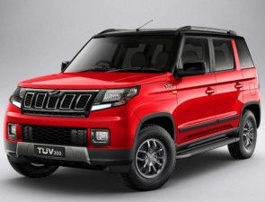 2020 Mahindra TUV300 Spied Again Revealing More Changes