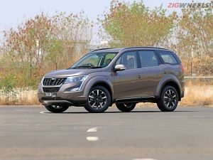 2020 Mahindra XUV500 Spied Testing For The First Time In India
