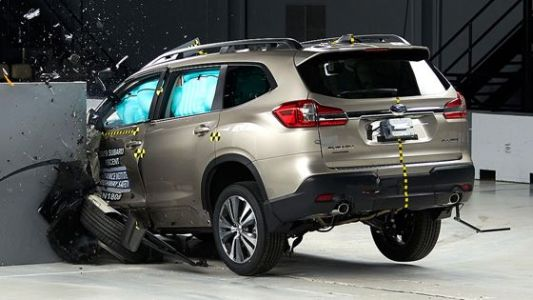 New Subaru SUV gets top honors
