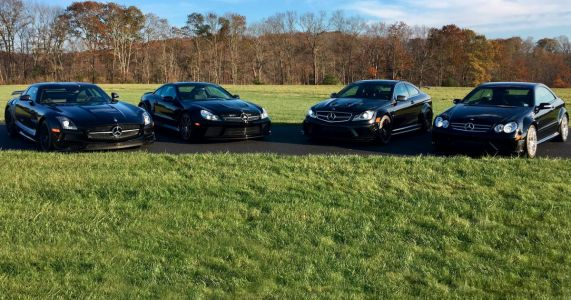 Now's Your Chance To Buy Four Rare AMG Black Series Legends In One