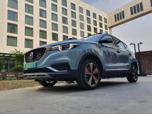 MG ZS EV All-electric SUV Unveiled In Detailed Images