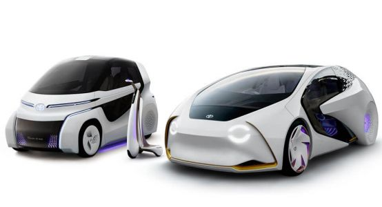 Toyota Concept-i Expands Into A Series Of Artificially Intelligent EVs