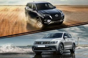 VW Tiguan Allspace vs 2021 Toyota Fortuner Performance And Fuel Efficiency Compared