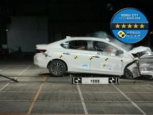 ASEAN NCAP Gives The 2020 Honda City A 5-star Safety Rating