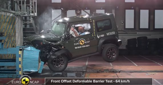 Suzuki Jimny Disappoints In Crash Test With Three-Star Rating