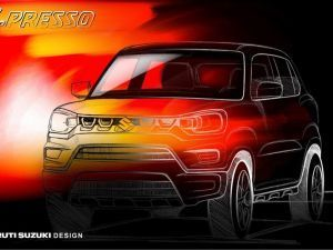 Maruti S-Presso Design Officially Teased Launch On September 30