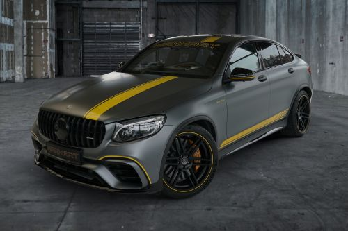 Mercedes-AMG GLC 63 S Coupe by Manhart Packs 700 HP