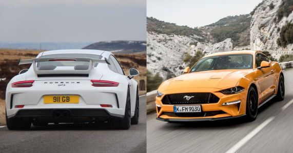 Why Driving A Mustang Slowly Is More Fun Than Driving A Porsche GT3 Fast