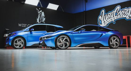 West Coast Customs Makes BMW i3 And i8 Duo Look Like Spaceships