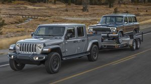 Jeep Gladiator Pick-up Unveiled At 2018 LA Auto Show