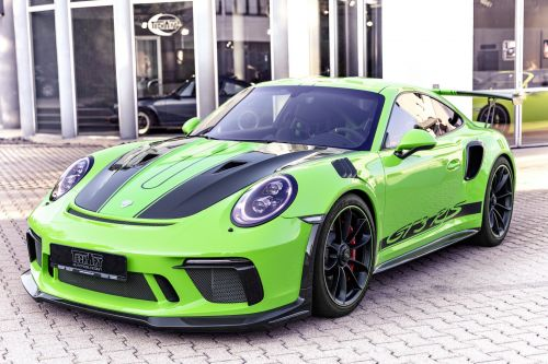 Porsche 911 GT3 RS Gets Carbon Sport Pack by TECHART