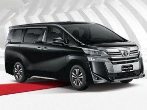 Toyota Vellfire Premium MPV India Launch On February 26 Rivals Mercedes-Benz V-Class