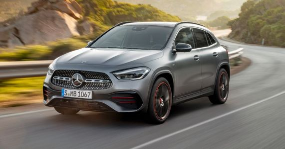 Taller, Shorter And Much More Advanced: Mercedes GLA Revealed