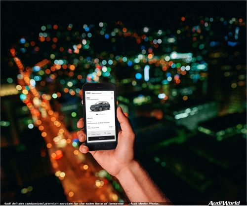 Audi delivers customized premium services for the sales force of tomorrow
