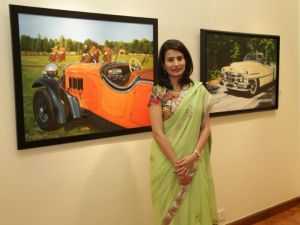 Indian Automotive Artist Vidita Singh To Exhibit Her Work At Pebble Beach Concours
