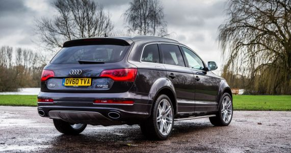 What It's Like Driving The 1000nm Audi Q7 V12 TDI