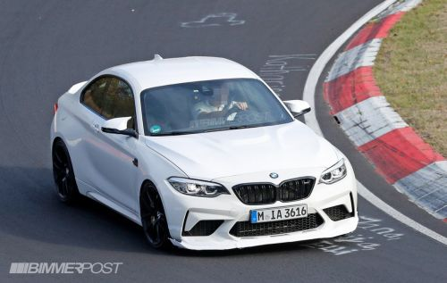 BMW M2 CS or CSL Spotted Testing At The Nürburgring