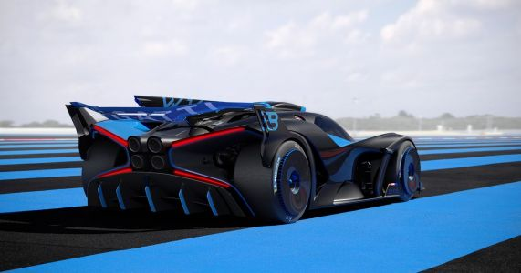 The 1240kg, Track-Only Bugatti Bolide Has An 1825bhp Chiron Engine
