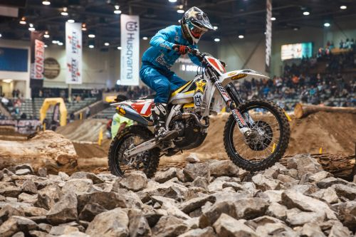 HAAKER FINISHES 3RD AT RENO ENDUROCROSS