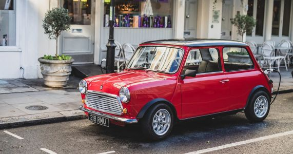 This Classic Mini Packs Electric Power And Underfloor Heating