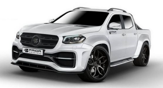 Mercedes-Benz X-Class Gets A Visual Makeover From Prior Design