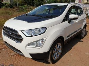 Ford EcoSport Thunder Edition Spotted Likely To Launch Next Week