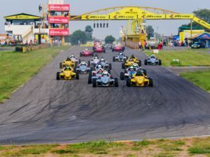 JK Tyre National Racing Championship Round 3 Surya Varathan Claims Novice Cup