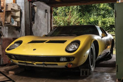 Lamborghini Miura Barn Find Could Be Worth As Much As R18 Million