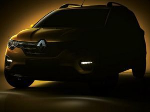Renault Triber Teased Ahead Of June 19 Reveal Gets Crossover Elements