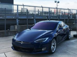 Tesla Installs Supercharger At The Nurburgring Record Attempt This Week