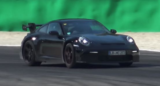 Porsche 992 'GT3' Prototype Spotted Testing With Naturally Aspirated Engine
