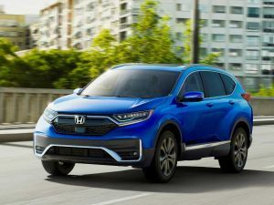 2020 Honda CR-V Facelift With Hybrid Powertrain Unveiled In US