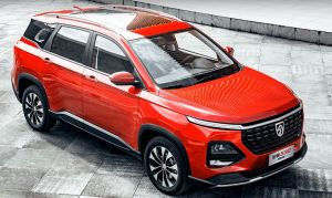 Facelifted MG Hector To Be Offered With 6 Seats In China