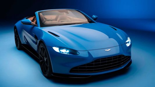 Aston Martin Vantage Roadster Revealed With Fastest Roof In The World