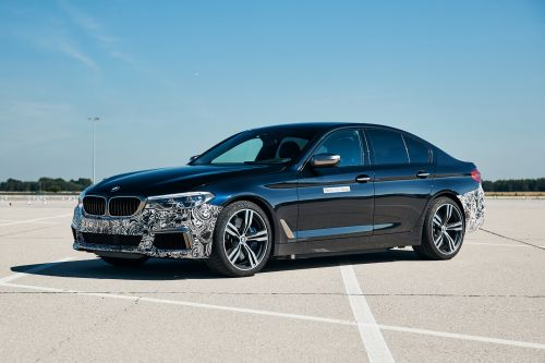 "BMW 5 Series ""Power BEV"" Trial Vehicle Packs 10,000 Nm of Torque"