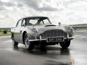 First Aston Martin DB5 Goldfinger Continuation Unit Rolls Off Production Line