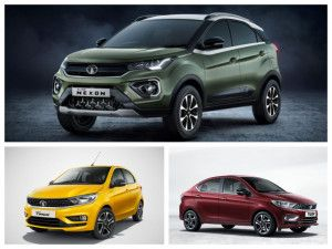 BS6 Tata Tiago Hatchback Tigor Sedan and Nexon SUV Launch On January 22 Bookings Open