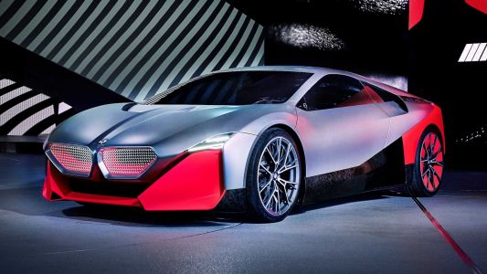 BMW Vision M Next Concept Revealed With 600 HP