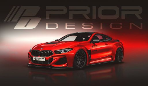 Prior Design Working On Mean Widebody Kit For New BMW 8 Series
