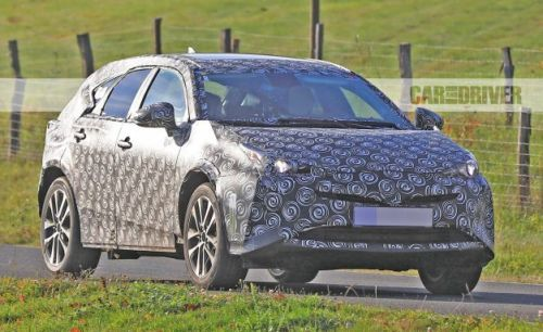 2019 Toyota Prius V Spied in Crossover Clothing