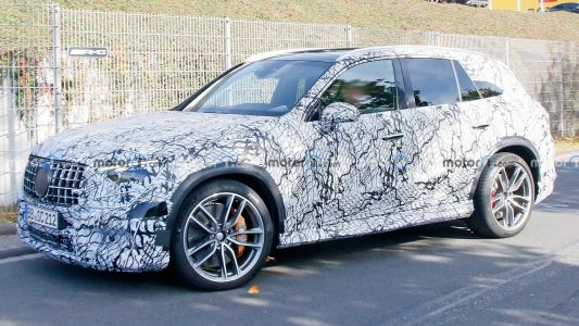 2023 Mercedes-AMG GLC 63 Spied Testing Will Also Get 2.0-Litre Four-Cylinder