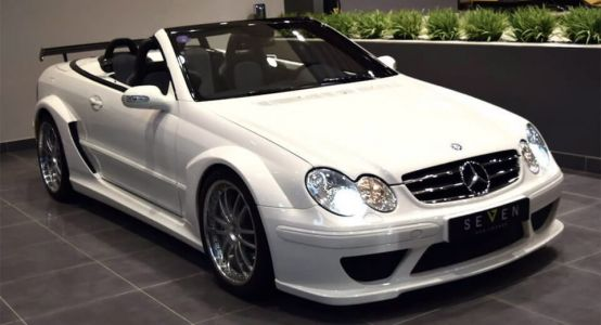 Keep Your Black Series, We Want This Mercedes CLK DTM Cabrio