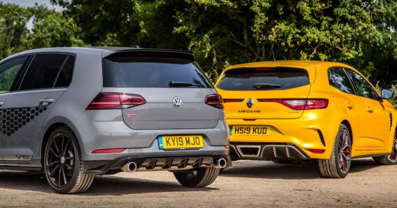 Renault Megane Trophy Vs VW Golf TCR: The New Boy And The Last Hurrah