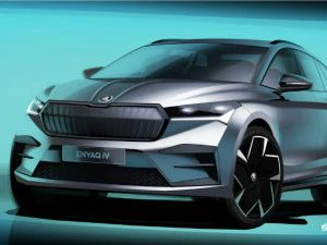 Skoda Releases Design Sketches Of All-Electric Enyaq iV Crossover Ahead Of September 1 Global Debut